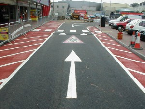 Road Marking Geduld